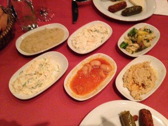 Galata Restaurant & Bar: meze