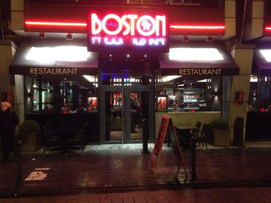 Boston Steak House Rogier : Heerlijk gegeten