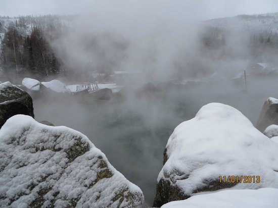 Chena Hot Springs Resort: Hot Springs