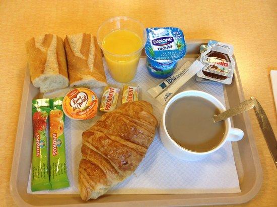 Ibis Budget Toulon Centre: Exemple de petit déjeuner