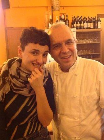 Alfredo: lo chef con arisa