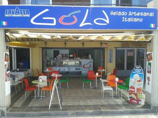 Gula ice cream parlour: gula gelaterie