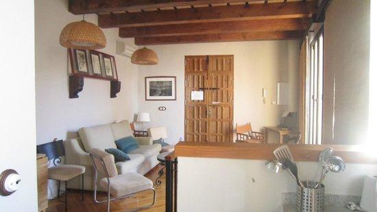Apartamentos Santa Barbara 12: Salón