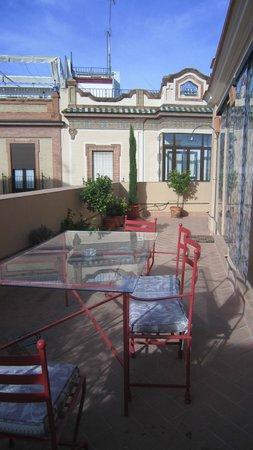 Apartamentos Santa Barbara 12: Solarium privado