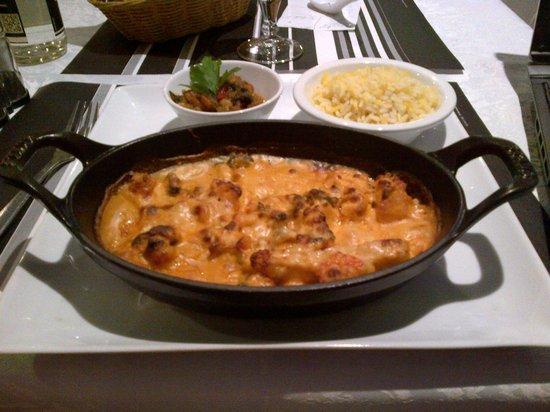 Hotel Hermes Bourgogne Dijon : mon plat!!!miam