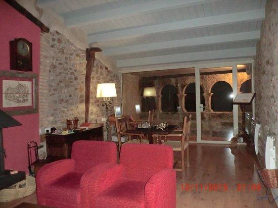 Hotel La Freixera: Sala de Estar