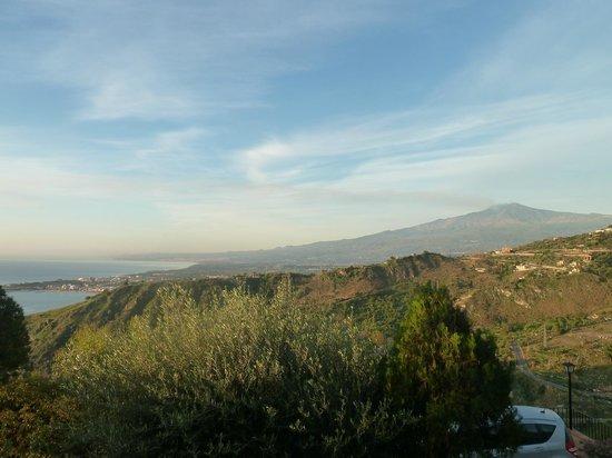 Villa Costanza Bellavista: View from our balcony