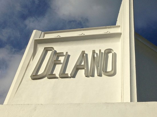 Delano South Beach Hotel: Roof deck at the Spa