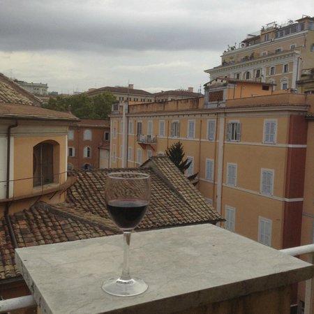 Raffaello Hotel: View from balcony
