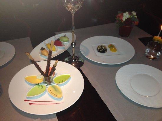 Rasoi by Vineet: L'un des desserts.