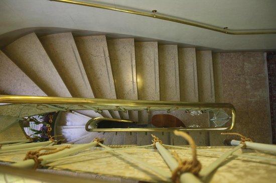 Ca' San Rocco: Vista de las escaleras