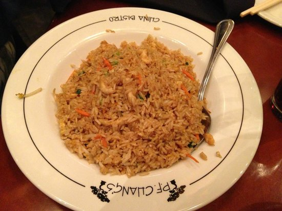 P.F. Chang's: Gluten Free Fried Rice
