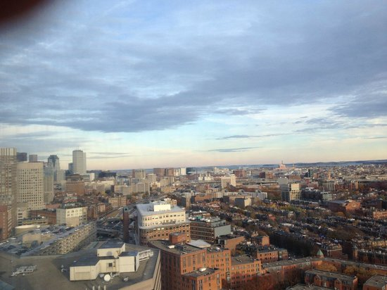 Boston Marriott Copley Place: View left window - 26th floor