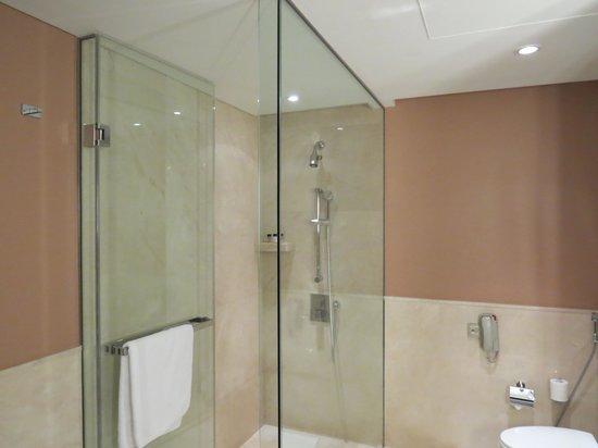 The Address Dubai Marina: Spacious walk in glass shower
