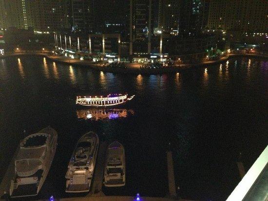 The Address Dubai Marina: Marina View from our Balcony