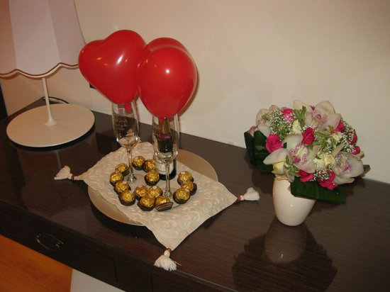 Residenza Wagner: cioccolattini e spumante!