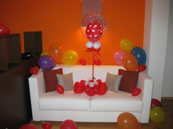 Residenza Wagner: La suite piena di palloncini!