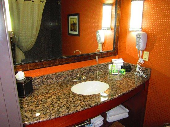 BEST WESTERN PREMIER KC Speedway Inn & Suites: Bathroom