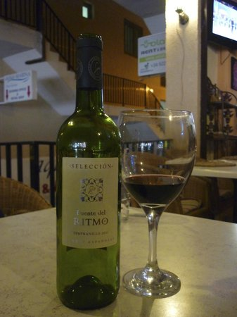 First Love: house wine