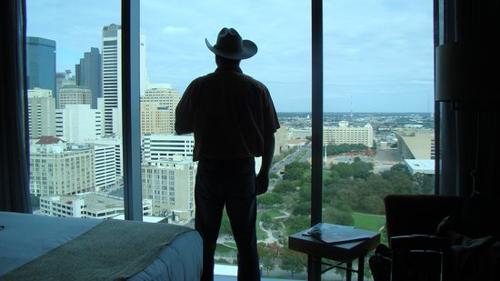 Omni Dallas Hotel: Nice view