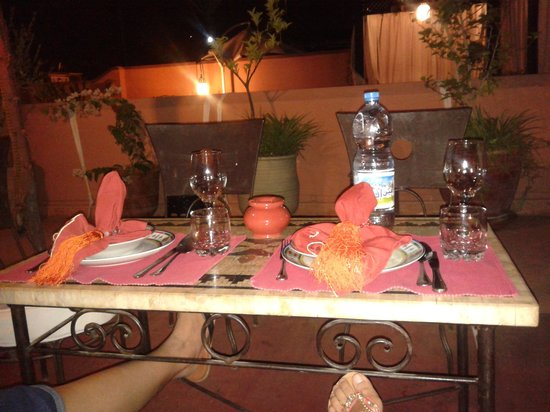 Riad Swaka : riad dinner