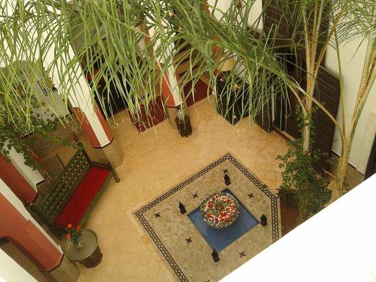 Riad Swaka : courtyard
