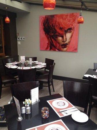 Restaurant Bar Les Trois Barils: verriere