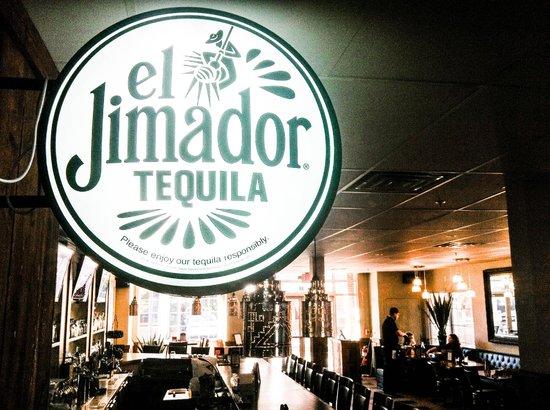 Mixteca Taqueria Y Cantina: El Jimador makes great for great decorations