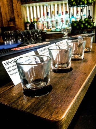 Mixteca Taqueria Y Cantina : Our tequila flights are not for the faint of heart