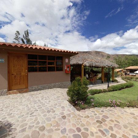 Inti Nan Hotel : Zona al aire libre de reuniones