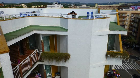 Xaine Park Hotel: на крыше