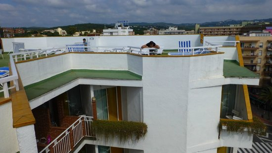 Xaine Park Hotel: балконы отеля