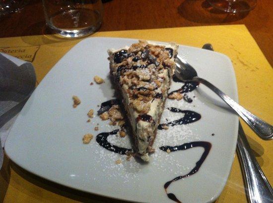 Le Muraccia: Cheesecake...una delizia!