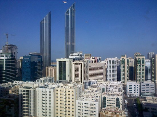 Cristal Hotel Abu Dhabi : Vista dal 19° piano
