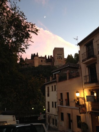 HOTEL CASA MORISCA: The view from the hotel