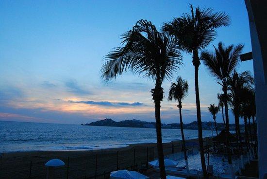 Hotel Marbella: buen atardecer