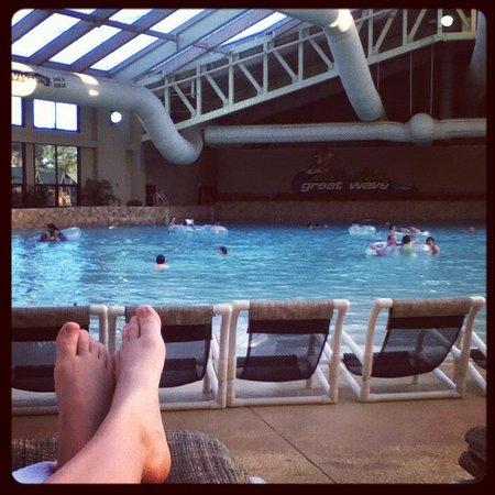 Wilderness Resort: piscina de ondas