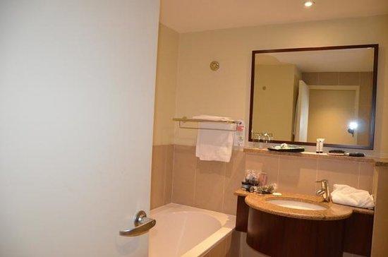 City Lodge Hotel OR Tambo Airport : Bathtub