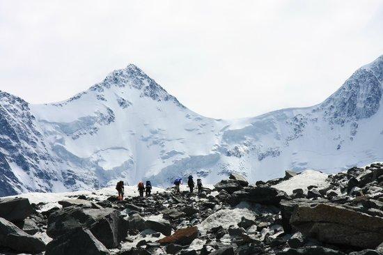 Belukha Mountain: К Белухе