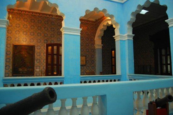 Museo de Historia de Tabasco (Casa de los Azulejos): azulejos catalanes