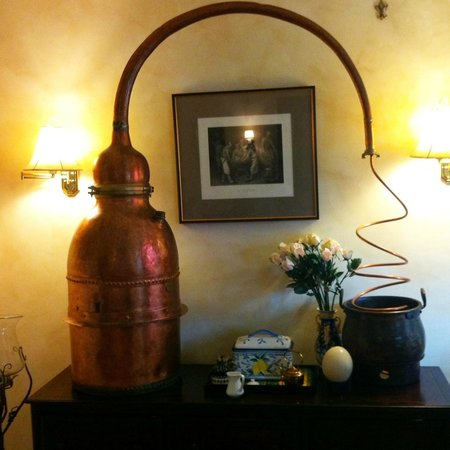 "A' Tuscan Estate Bed and Breakfast: ""Decorative"" calvados still"