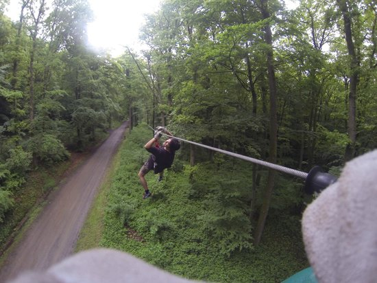 Indian Forest : Zip Lining