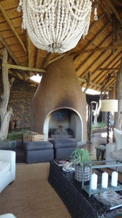 Madikwe Safari Lodge : Part of the open air lodge