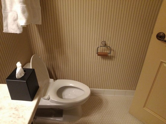 Sheraton Baltimore Washington Airport Hotel - BWI: Unexceptable! No toilet paper for 2 days had to use tissues