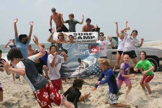 Ride the Wind: Surf Camp Group