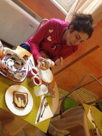 Kent Hotel Rome: La colazione