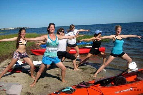 Ride the Wind: Kayak Tour with Yoga/Tai Chi