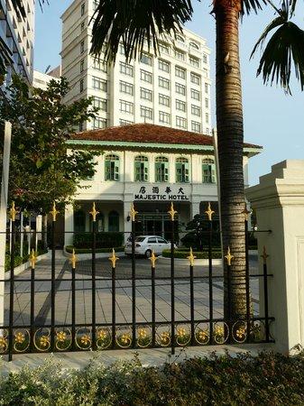 The Majestic Malacca: Hotel view