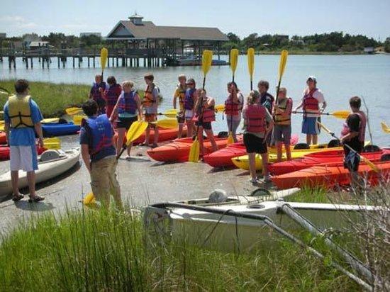 Ride the Wind: Group Kayak Tour
