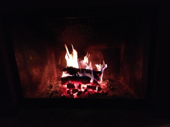 La Caracola Hotel Rural: fireplace